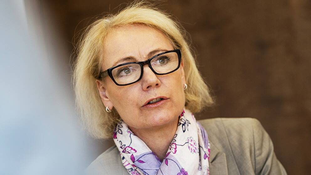 Sidas Generalsekreterare Charlotte Petri Gornitzka.