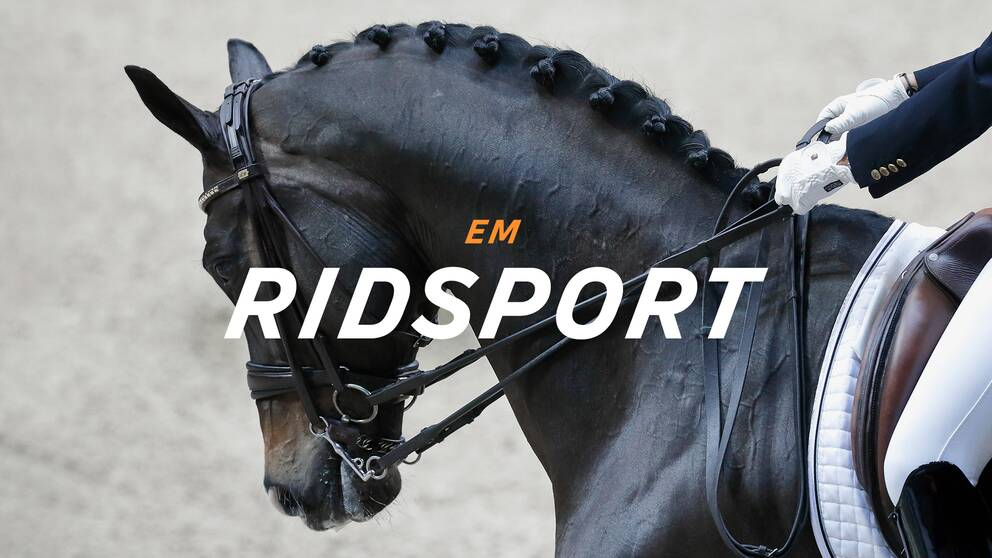 190818 Patrik Kittel, Sweden, on Well Done de la Roche, and in the background Antonia Ramel on Brother de Jeu and Juliette Ramel on Buriel before the by FEI European Championship on August 18, 2019 in Rotterdam