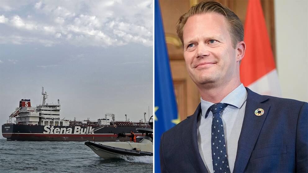 Danmark ser positivt på en europeisk säkerhetsaktion i Hormuzsundet, enligt utrikesminister Jeppe Kofod.