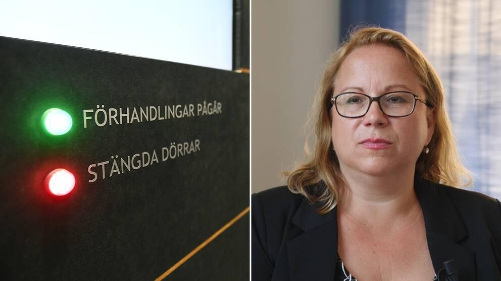 My Hedström, byråchef vid Åklagarmyndigheten.