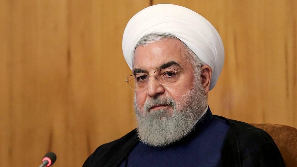 Irans president Hassan Rouhani.