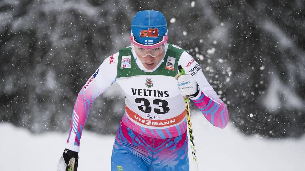 Mona-Liisa Nousiainen har avlidit efter en tids sjukdom.