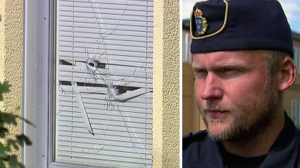 Enligt Mattias Forssten, lokalpolisområdeschef i Karlstad, handlar det om motsättningar i den kriminella sfären.