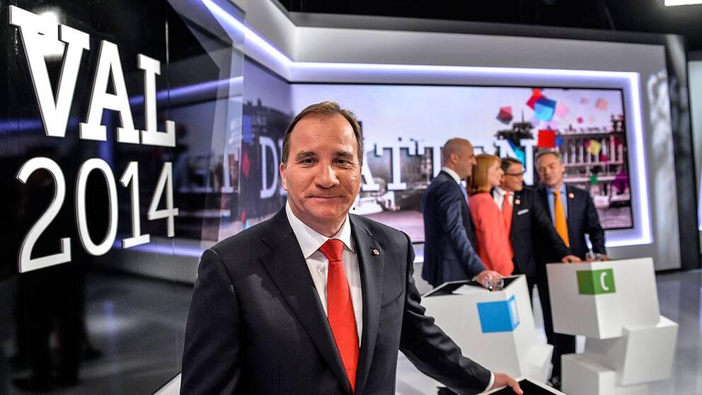 """Efter kontroversen i TV4:s valdebatt på torsdagskvällen skriver Aftonbladets politiska kommentator att S-ledarens reaktion var """"det dummaste Stefan Löfven kunde göra""""."""
