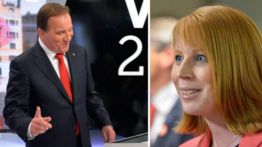 Att Lööf lämnade sin pulpet under debatten för att gå fram till Löfven har i sig kritiserats för att vara provocerande.