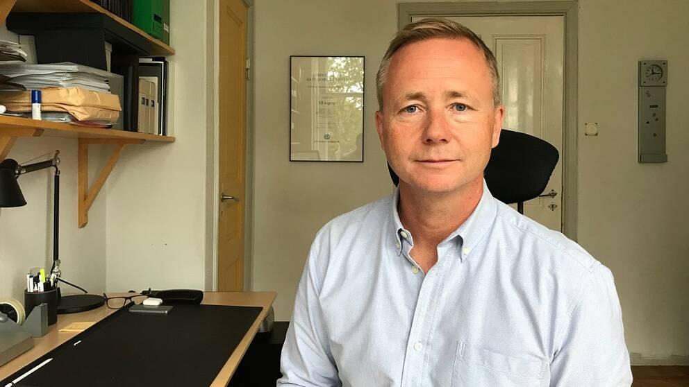 Ulf Aagerup vid Högskolan i Halmstad