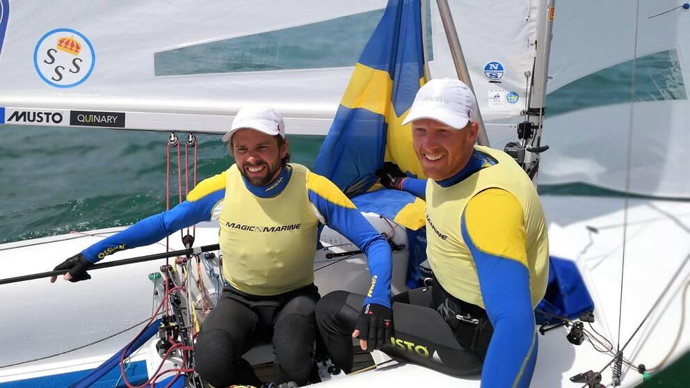 Anton Dahlberg och Fredrik Bergström