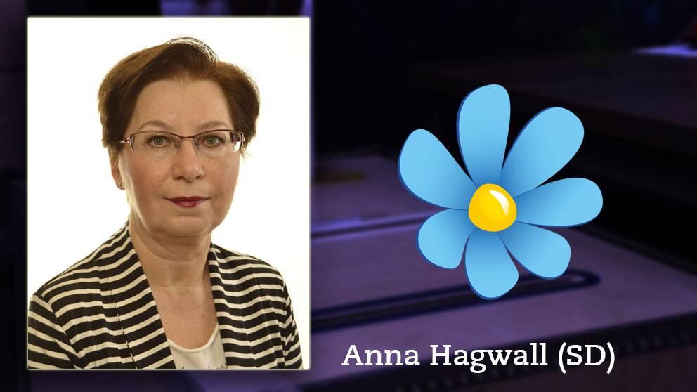 Anna Hagwall, riksdagsledamot för Sverigedemokraterna