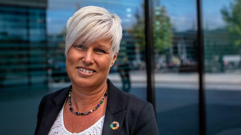 Ingela Hagström, biträdande stadsdirektör.