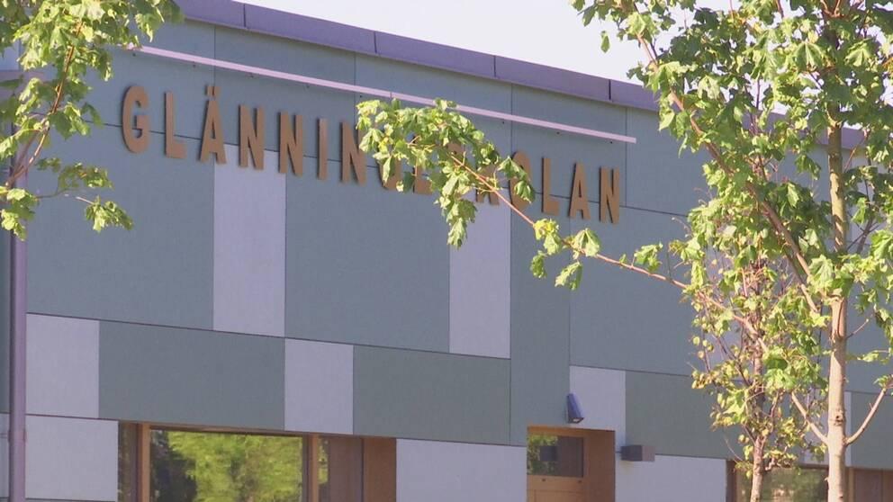 Glänningeskolan i Laholms kommun.