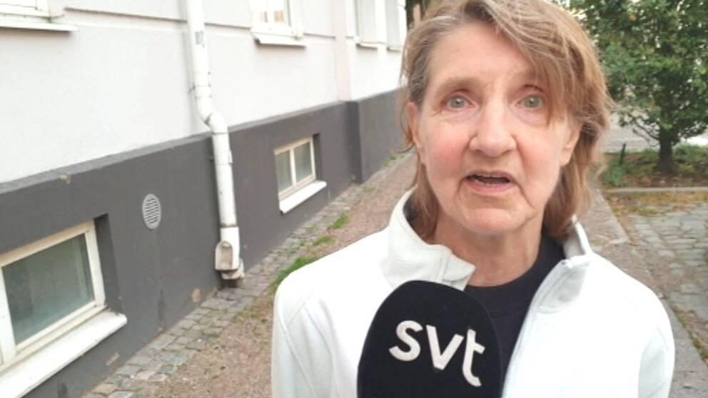 Stadshusets närmsta granne Doris Andersson