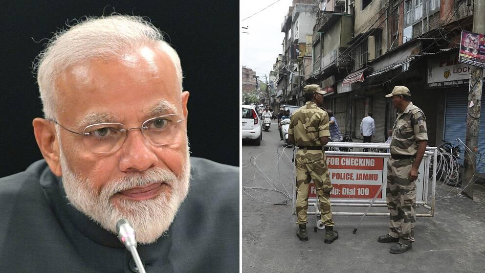 Indiens premiärminister Narenda Modi