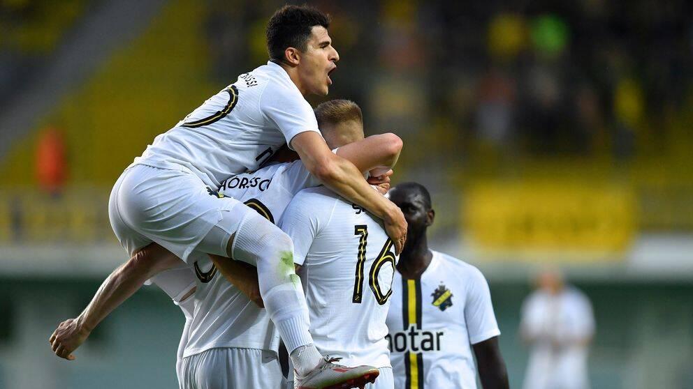 Tarik Elyonoussis AIK vann borta i Moldavien.
