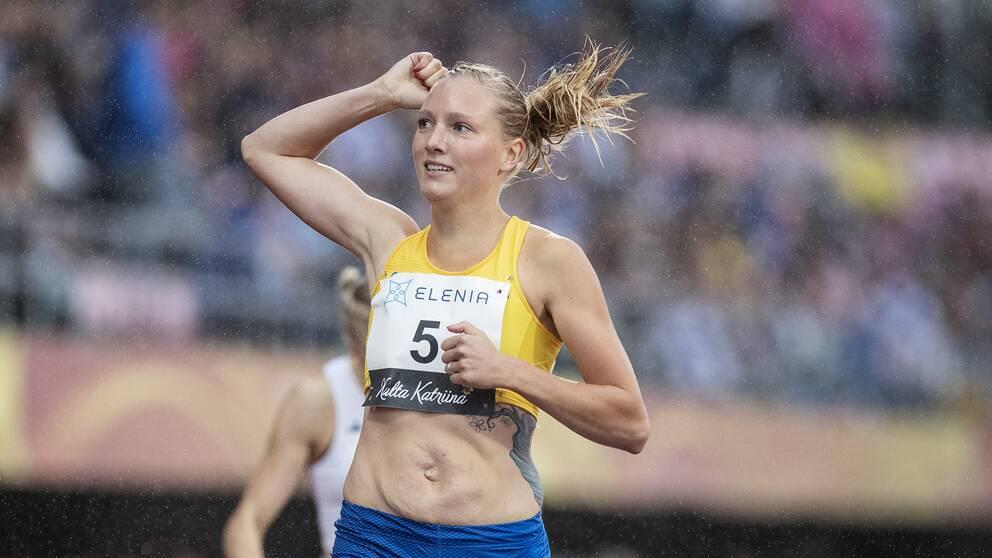 Moa Hjelmer slog till med årsbästa i lag-EM i Polen.