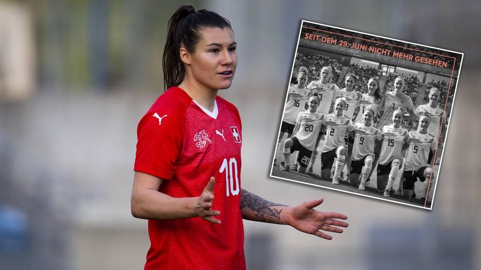 Ramona Bachmann är en av flera spelare som nu kritiserar det tyska landslaget.