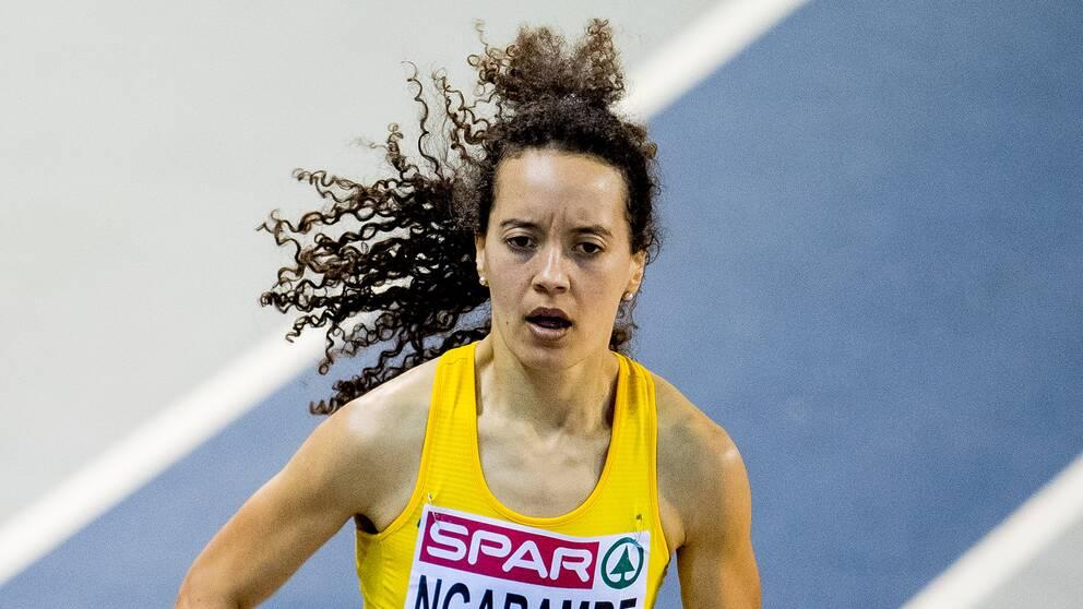 Yolanda Ngarambe vann 3000 meter under lag-EM.