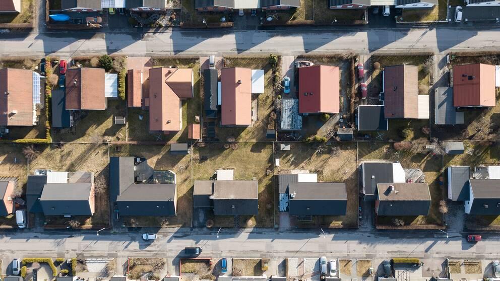 Försäljningen av bostäder i juli ökade med sju procent jämfört med samma månad förra året. Arkivbild.