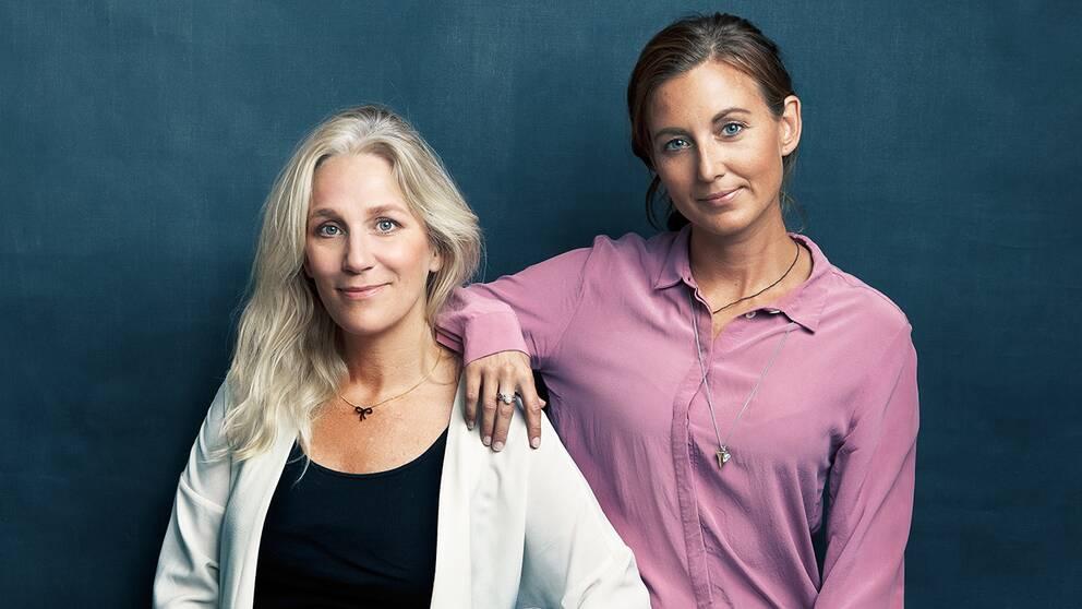 Ann Söderlund och Sanna Lundell i Djävulsdansen