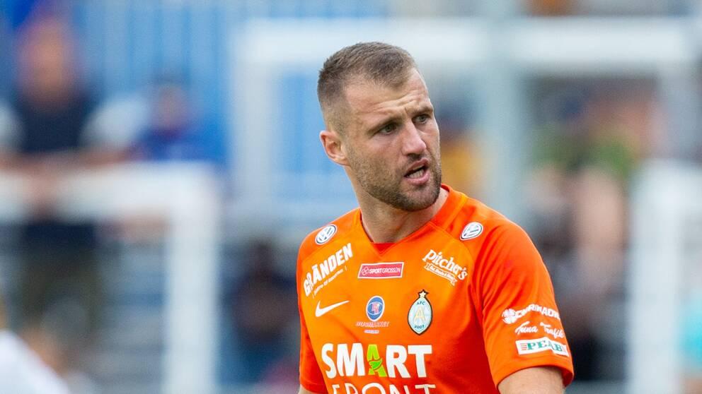 Mehmed Dresevic lämnar AFC Eskilstuna.