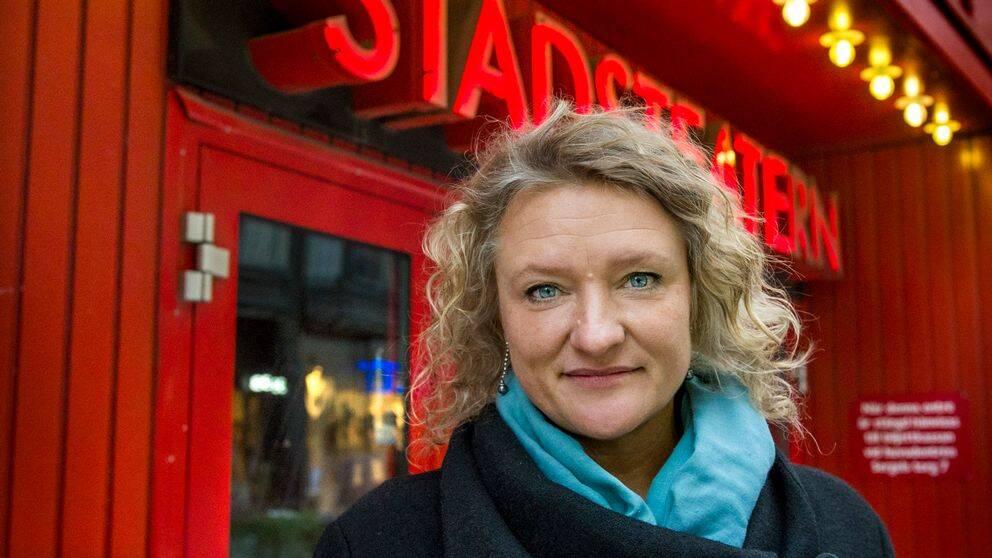 Teaterchefen Anna Takanen lämnar Kulturhuset stadsteatern.