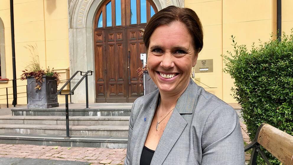 Christina Landoff (KD) vill gärna ta plats som kommunalråd i Linköpings stadshus.