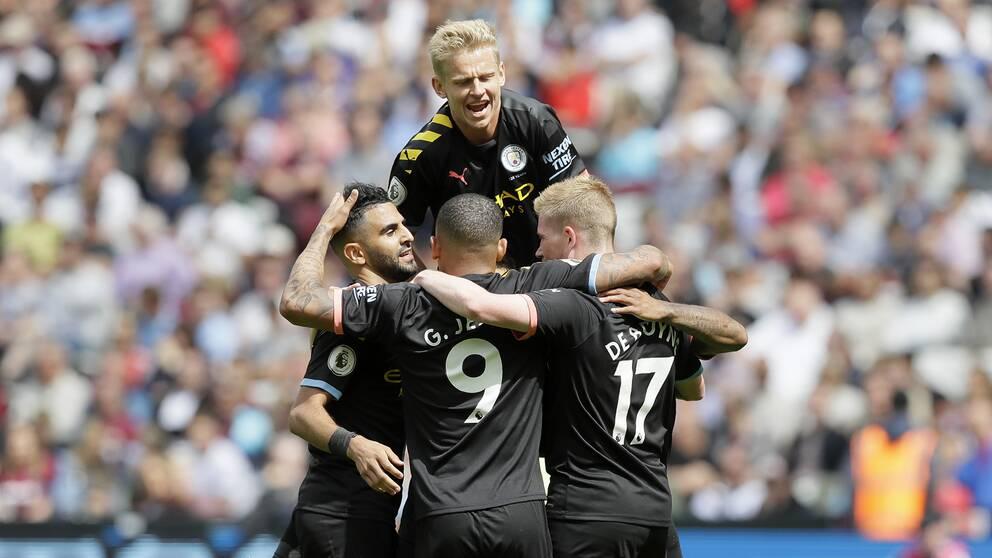 Manchester City bötfälls.