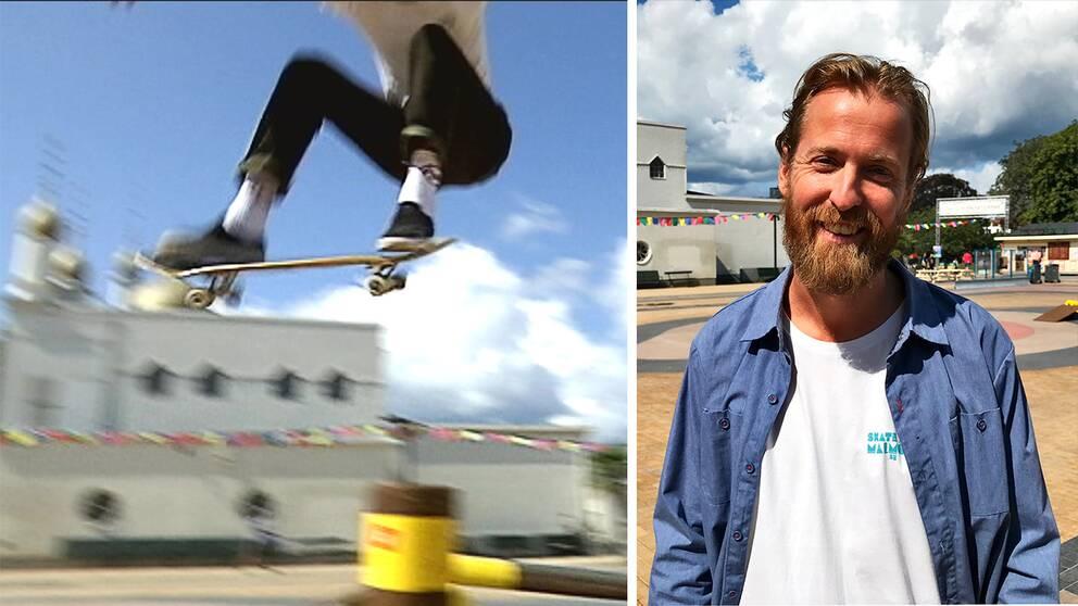 Akademiska panelsamtal, filmfestival, utställningar och såklart massor av skateboardåkning. Det utlovar Gustav Svanborg Edén, skatesamordnare på Malmö stad.