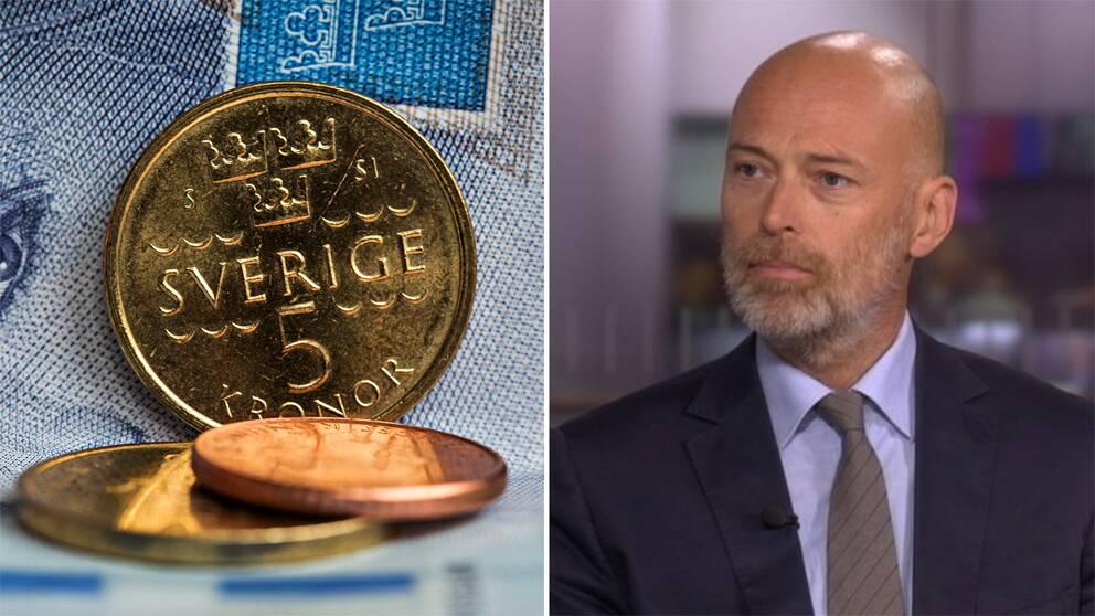 En lågkonjunktur kan vara på ingång, menar SVT:s ekonomireporter Knut Kainz Rognerud.