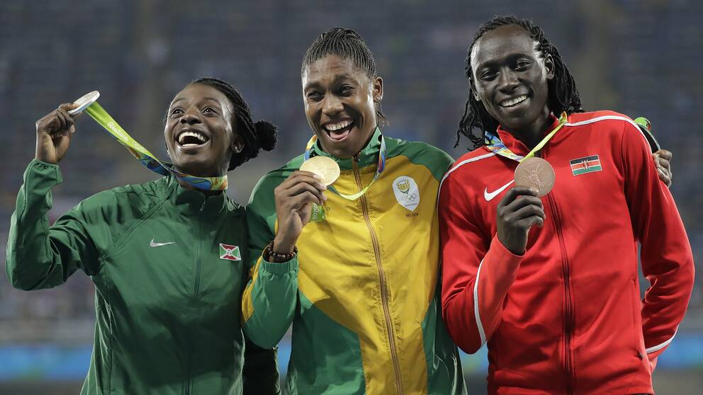 Francine Niyonsaba, Caster Semenya och Margaret Wambui stoppas samtliga från deltagande i VM i Doha.