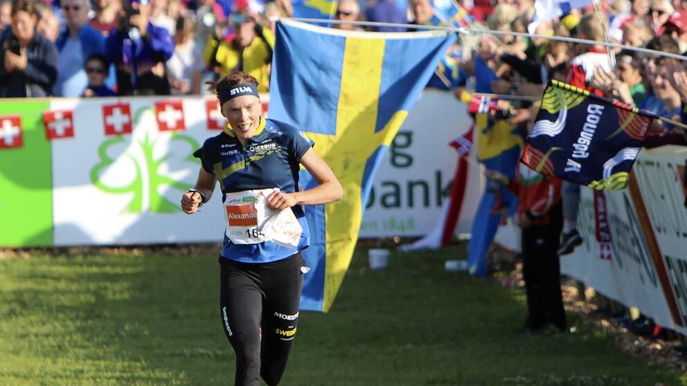 Tove Alexandersson under VM i Norge. Arkivbild.