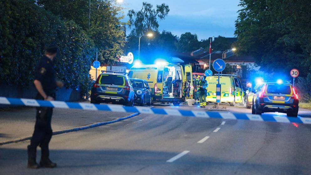 Polis och ambulans