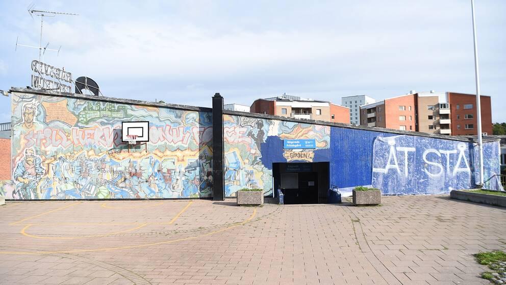 Graffitimålningen Highway i Rågsved