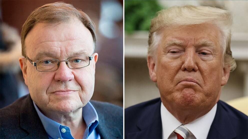 Dag Blanck och Donald Trump