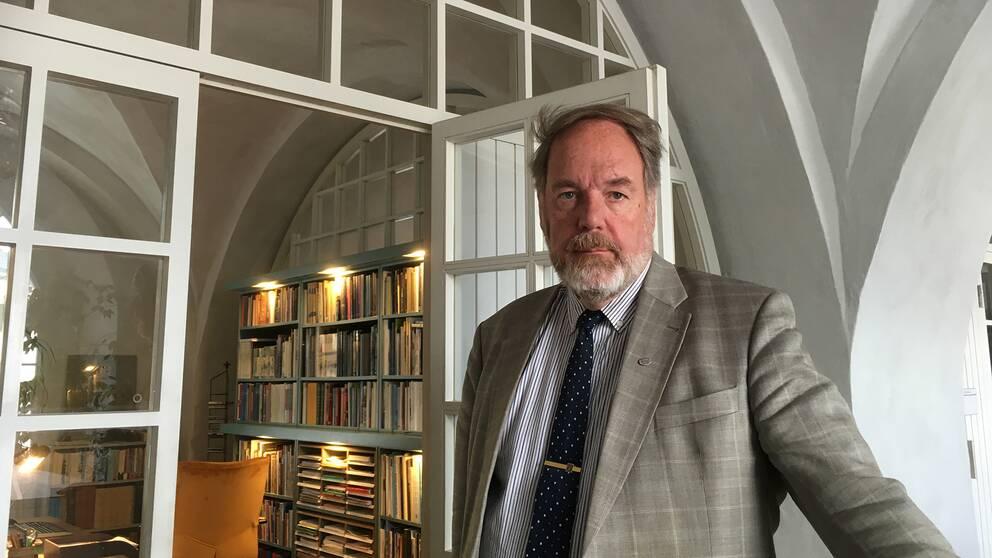 Militärhistoriker Thomas Roth anser att åtalet mot Anna Lindstedt är unikt i svensk historia.