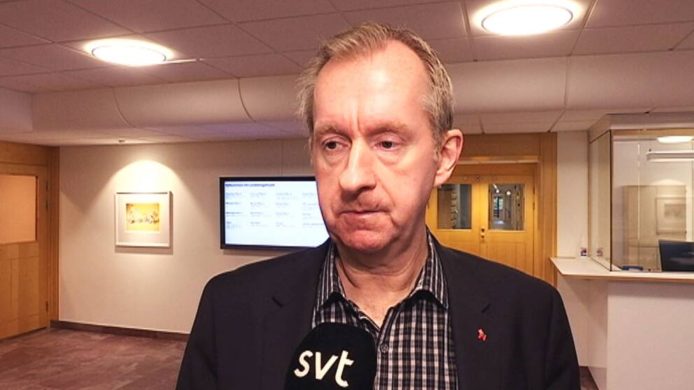 Region Dalarnas ekonomidirektör Peter Hansson