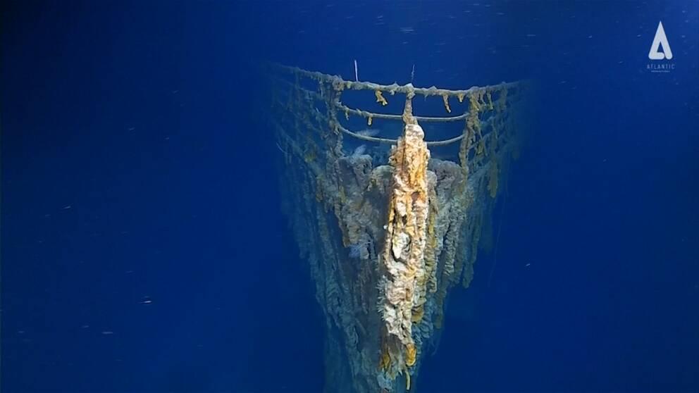 Nu krävs det tillstånd för att dyka vid Titanic