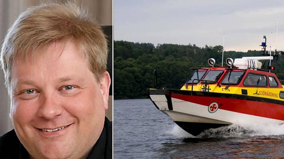 Ulf Holmberg vid Sjöräddningssällskapet i Örnsköldsvik