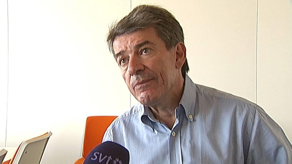 Michael Cocozza (L) är också ägare till fastighetsbolaget Botrygg.