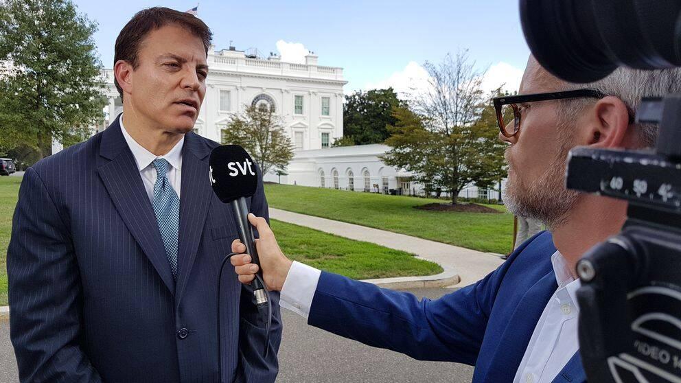 Thomas Philipson intervjuas av Alexander Norén
