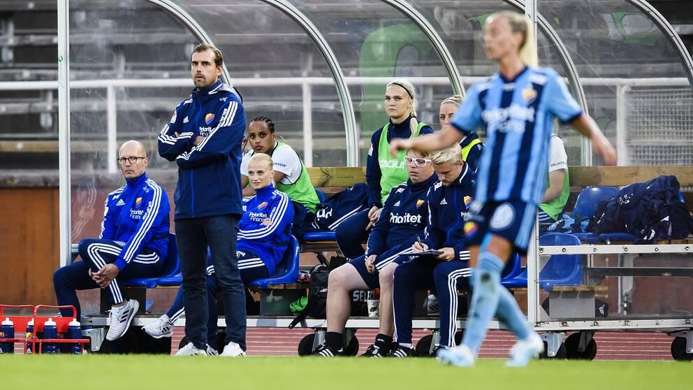 Joel Riddez, Djurgårdens tränare.