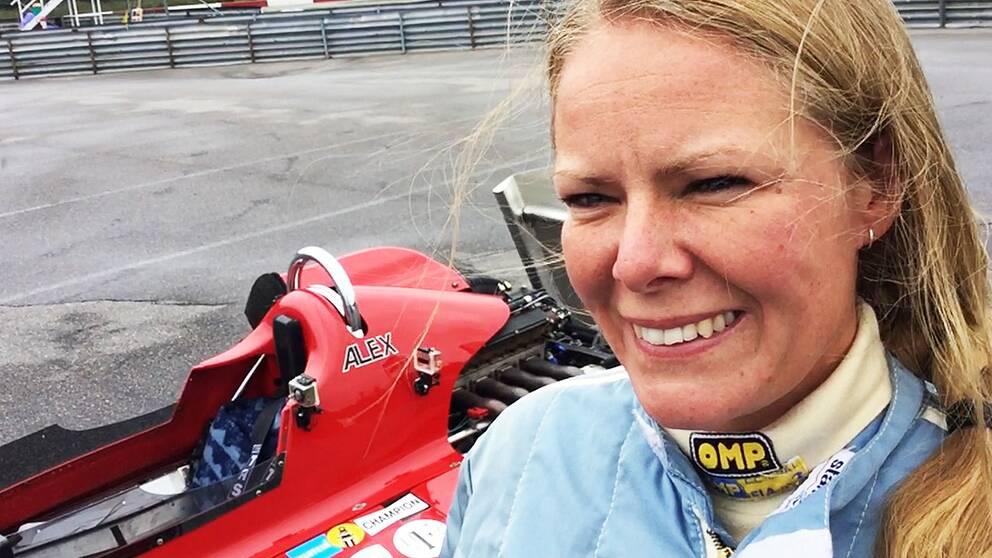 Michaela Månlycke racerförare
