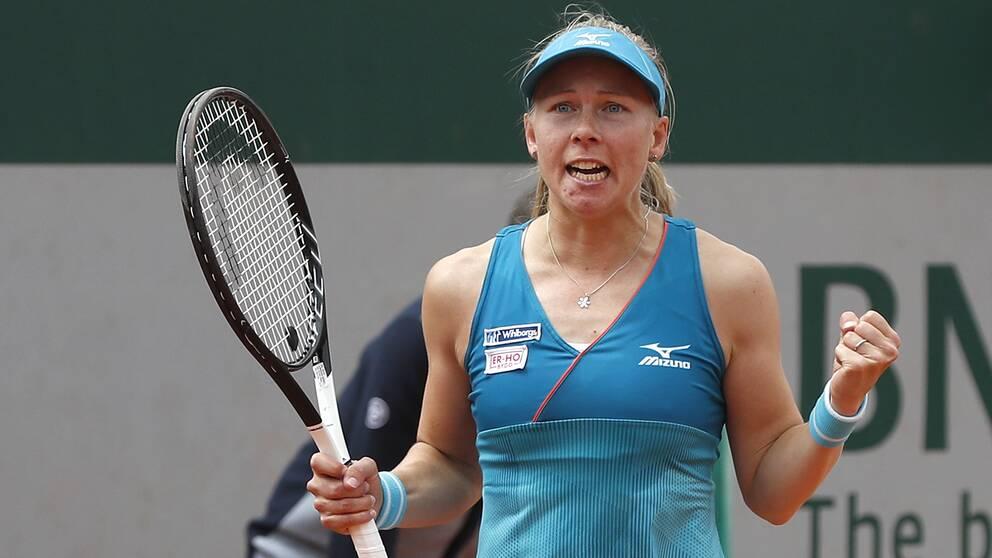 Johanna Larsson, rankad 172, är klar för US Open.