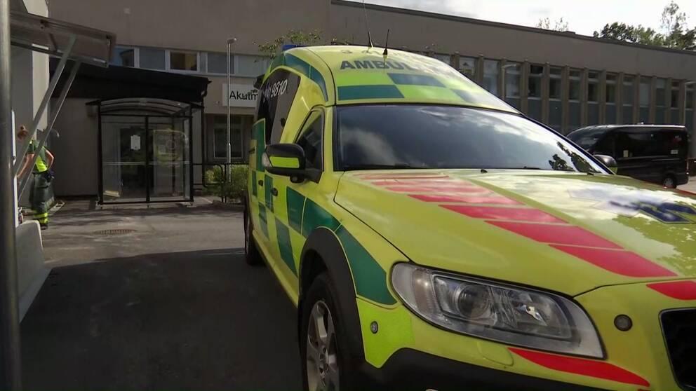 Akutmottagningen på Nyköpings lasarett tvingades stänga tidigt på eftermiddagen