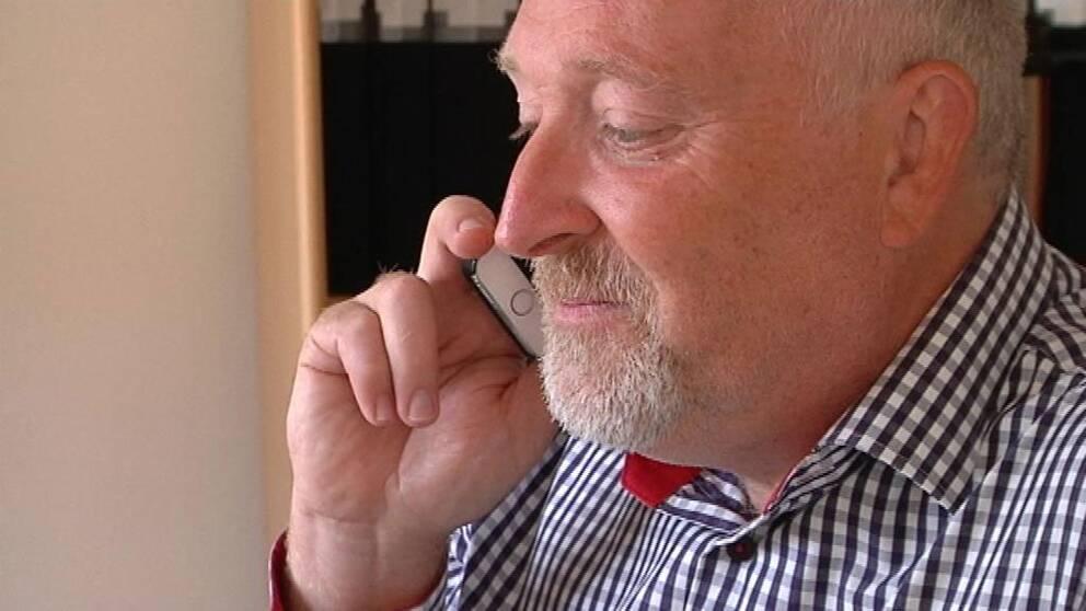 Patrik Hansson (S) i Karlskrona kan komma att göra upp med mittenpartier om makten.