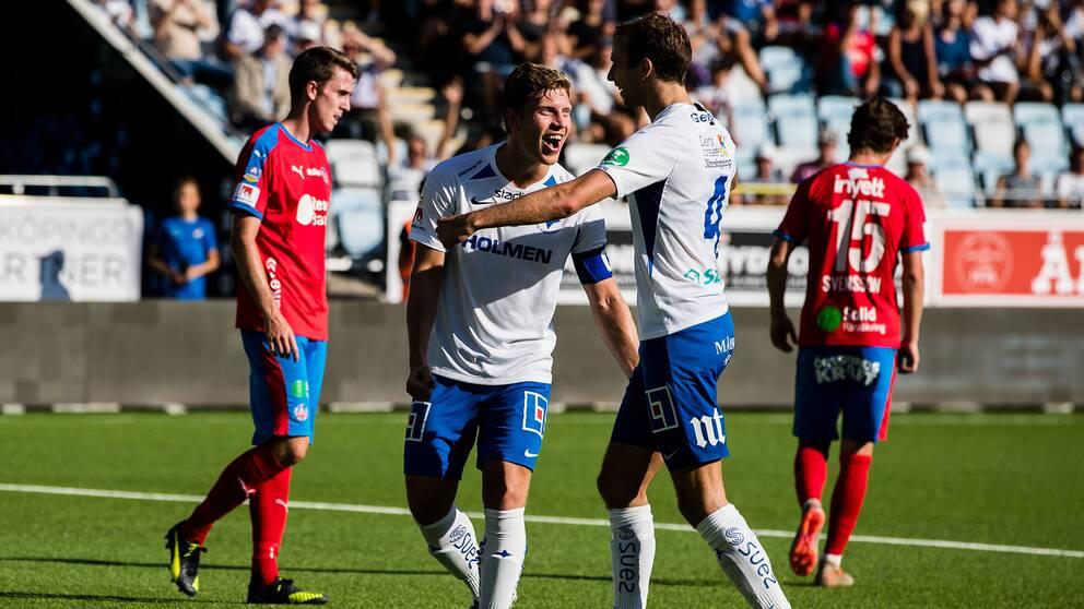 Norrköping fick mål-jubla fem gånger mot Helsingborg