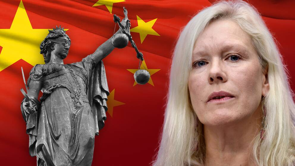 Sveriges före detta Kina-ambassadör Anna Lindstedt misstänks för brott mot rikets säkerhet.