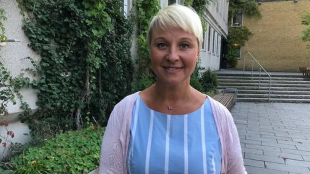 Anna Tenje orförande kommunstyrelsen Växjö kommun.