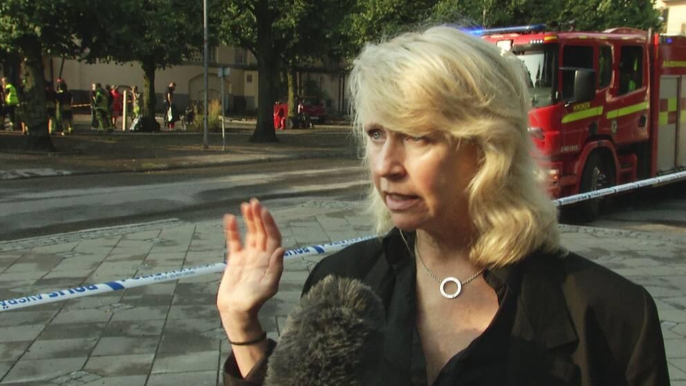 Scenkonstbolagets vd Pia Kronqvist östgötatatern