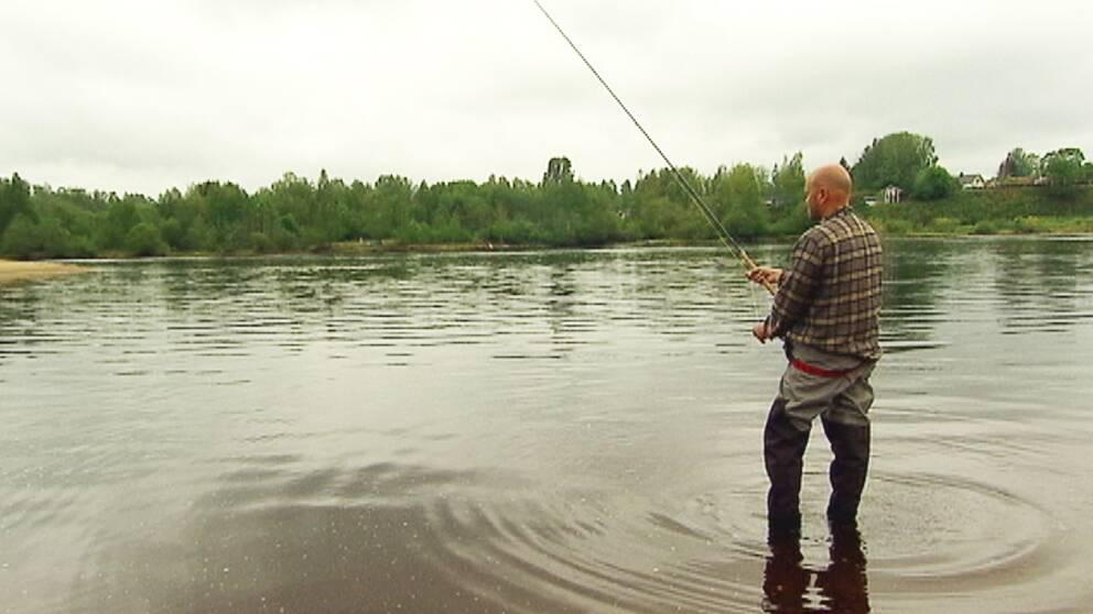 Peter Belin från Sportfiskarna anser att Värmland är ett väldigt bra fiskelän