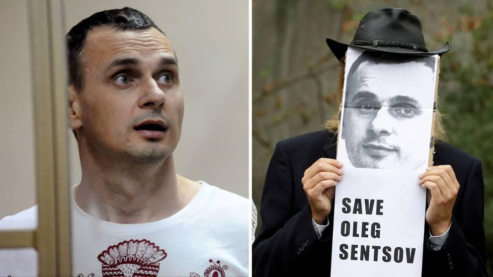 Den terrordömde ukrainske filmregissören Oleg Sentsov har flyttats till ett fängelse i Moskva.
